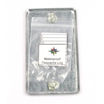 Magnetisk Geocache täckplatta
