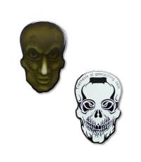 Ripper Bones - Ljusgrön / Glow - Svart Nickel