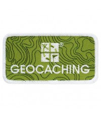 Geocaching Logo Märke med kardborre