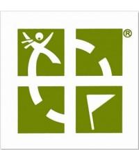 Geocaching Logo klistermärke