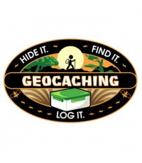 Hide It, Find It, Log It - Klistermärke