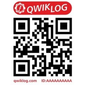 Medium QwikLog klistermärke
