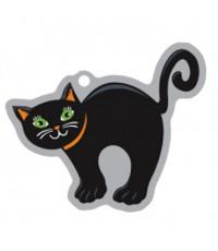 Halloween Svart katt - Travel Tag