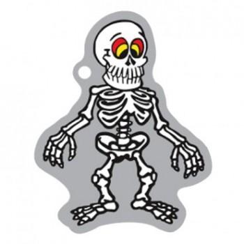 Halloween Skelett - Travel Tag