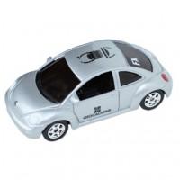 Spårbar VW Bug - Silver